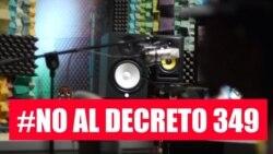 Buscan 10 mil firmas para derogar Decreto 349 que censura a los artistas
