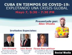 Webinar sobre Cuba y el COVID19