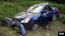 El editorial recuerda que Carromero declaró en una entrevista que el vehículo fue embestido por detrás.