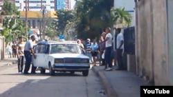 Reporta Cuba. Represión. Foto: Ernesto Vera.