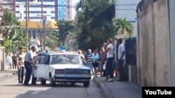 Reporta Cuba / Stgo de Cuba / represión /foto /Ernesto Vera.