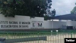 Estación Migratoria Siglo XXI, en Tapachula, México.