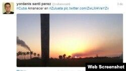 Narrado desde Cuba a través de las redes sociales