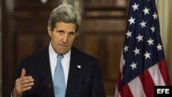 El Secretario de Estado estadounidense, John Kerry. Foto de archivo