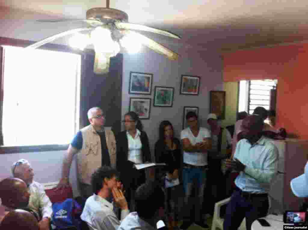 Foro de opositores en La Habana