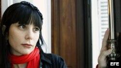 La escritora cubana Wendy Guerra, vista por el fotógrafo Chema Moya, en Madrid.