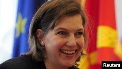 Vocera del Departamento de Estado de EE.UU., Victoria Nuland. Archivo.