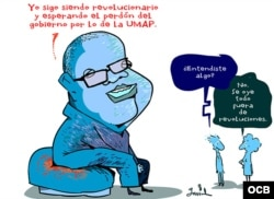 Garrincha cartoon - Pablo Milanes and UMAP