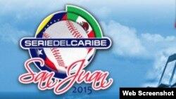 Logo de la Serie del Caribe 2015, San Juan, Puerto Rico.