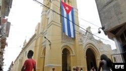 Procesión de la Virgen de la Caridad del Cobre, patrona de Cuba.