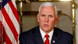 El vicepresidente estadounidense, Mike Pence, denunció la represión del gobierno nicaragüense contra las manifestaciones populares