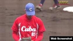 Pelotero cubano.