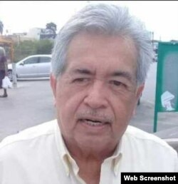El ingeniero Juan A. Sierra, administrador de la Casa del Migrante San Juan, en Matamoros.