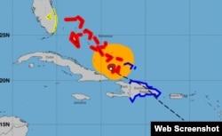 Bahamas y costa este de Florida en alerta por huracán Isaías. (NHC)