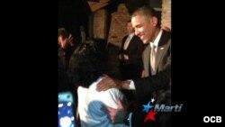 Histórica reunión entre líderes de la oposición cubana y el presidente Obama