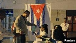 Elecciones parlamentarias en Cuba.