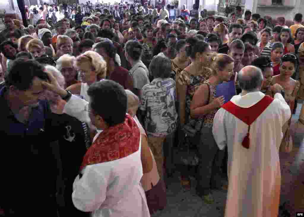 La Santa Sede tiene en Cuba 357 sacerdotes que trabajan para evangelizar a 11.2 millones de cubanos.