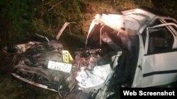 Accidente de tránsito en Villa Clara