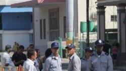 Control policial en funerales de activista fallecida en Las Tunas