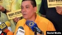 Fernando Albán, concejal del partido opositor venezolano Primero Justicia.