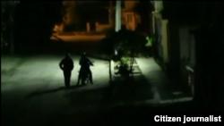 Reporta Cuba. Se presentaron el sábado por la noche a mi casa.