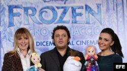 Presentación de 'Frozen' en Rome, Italy.