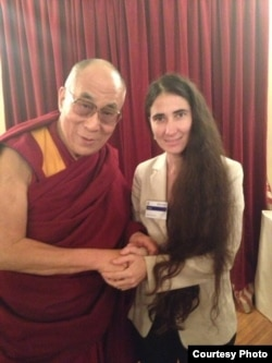 El Dalai Lama y Yoani Sánchez