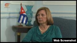 Josefina Vidal habla sobre la visita de Barack Obama a Cuba.