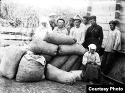 Holodomor en Ucrania, la colectivización.