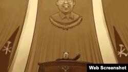 Kim Jong Un, dictador comunista de Corea del Norte. (RFA / Rebel Pepper).
