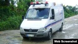 Reporta Cuba. Ambulancias.
