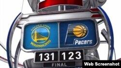 Exhibición ganadora de los Warriors de Golden State.