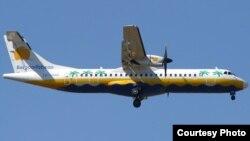 En un avión como éste de la estatal cubana Aero Caribbean se iniciaría el experimento de venderles a los cubanos viajes a Islas Caimán.
