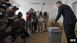 Elecciones europeas en Praga