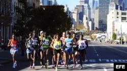 Imagen de archivo del Maratón de Nueva York.