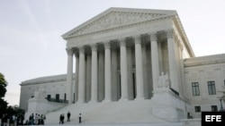 Vista de la sede del Tribunal Supremo de Estados Unidos en Washington. EFE/Stefan Zaklin