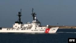 Un barco del servicio guardacostas de Estados Unidos.