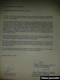 Reporta Cuba. Demanda ciudadana.