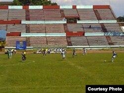 Estadio Pedro Marrero en La Habana, Cuba.