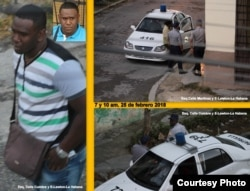 Vigilancia en la sede de Damas de Blanco /Angel Moya Acosta