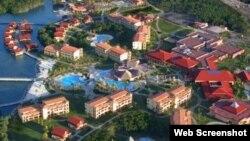 Reporta Cuba. Vista aérea de Jardines del Rey.