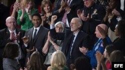 Alan Gross fue invitado al Congreso para escuchar el Discurso de la Unión de Barak Obama.