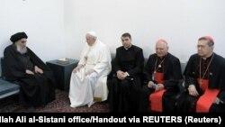 Papa Francisco y el Gran Ayatolá