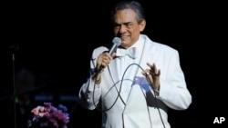 El cantante mexicano José José falleció este sábado en Miami. (Jeff Daly/Invision/AP)