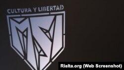 Logo del Movimiento San Isidro en una imagen de Hamlet Lavastida