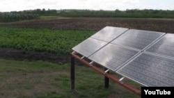 Paneles solares en las Tunas