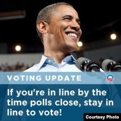 twitpic de Barack Obama