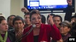 Llama a protestas candidata derrotada en comicios hondureños