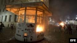 Pide ONU a las autoridades en Brasil respuesta moderada a protestas