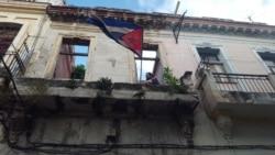 Sede del Movimiento San Isidro, en la calle Damas de La Habana Vieja. (Facebook/MSI)